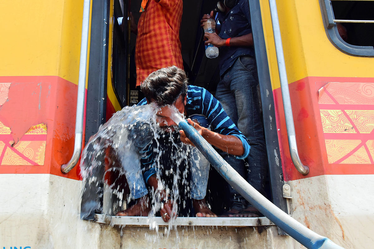 Delhi records 43.6 degrees Celsius temperature, highest in July after 90 years