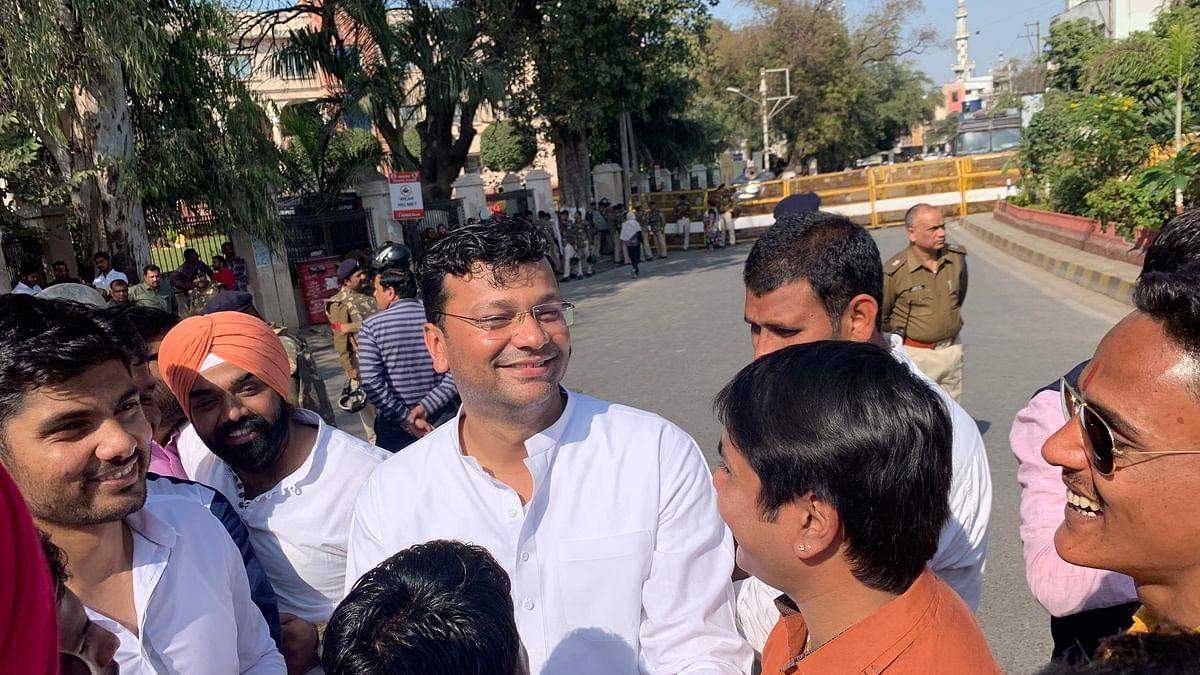 Gaurav Ranadive in White kurta/ File Pic