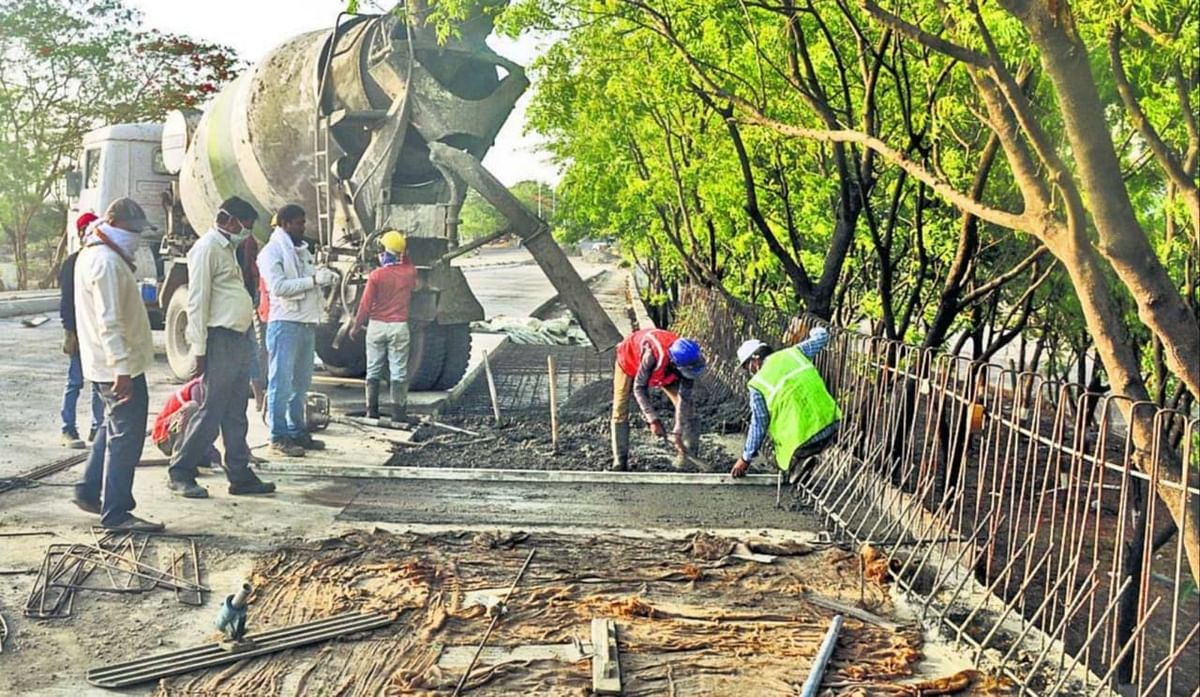 Indore: Labour pain for Indore Development Authority and Public Works Department amid corona crisis