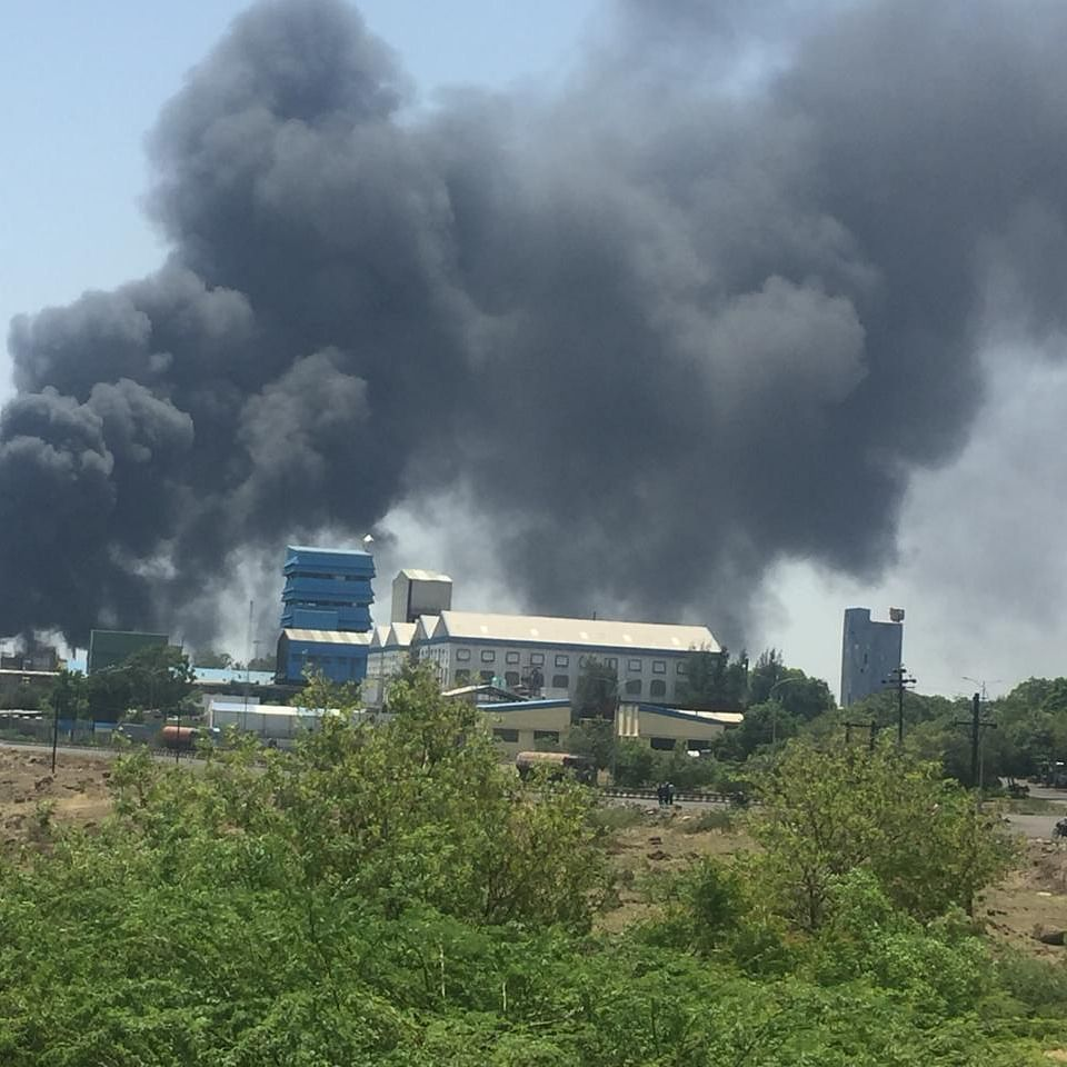Fire at a chemical unit in Pune; 12 workers rescued, none hurt