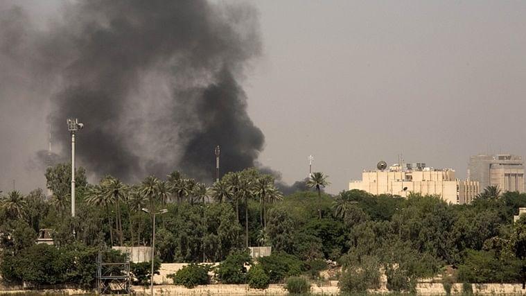 Rocket hits near US embassy in Baghdad's Green Zone
