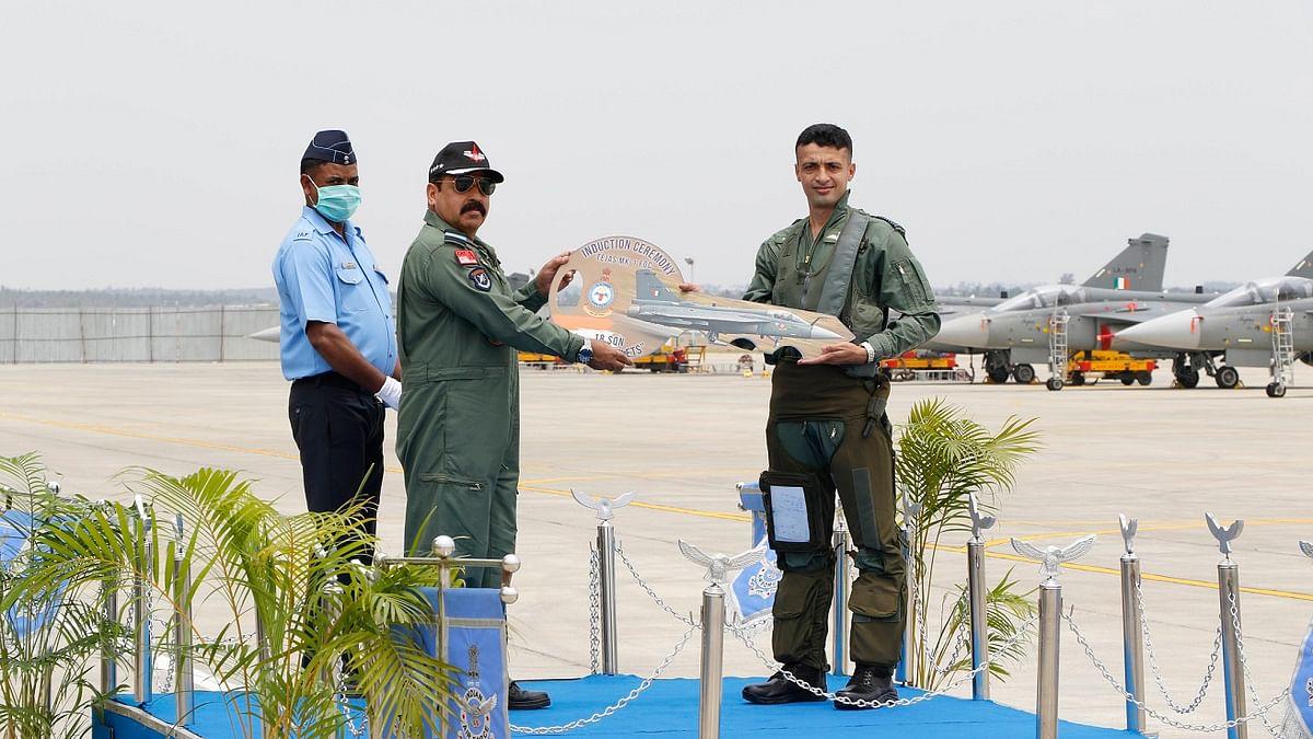 IAF inducts Tejas Mk-1 FOC aircraft