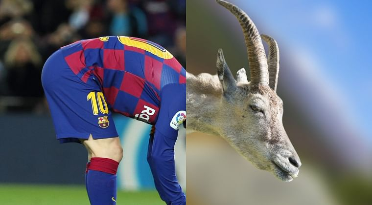 La Liga shares incredible picture of the G.O.A.T Lionel Messi