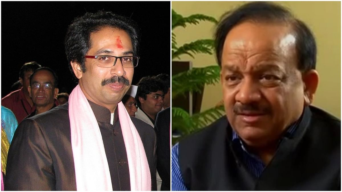 Dr Harshvardhan and CM Thackeray on same page; express concern over people still taking lockdown lightly