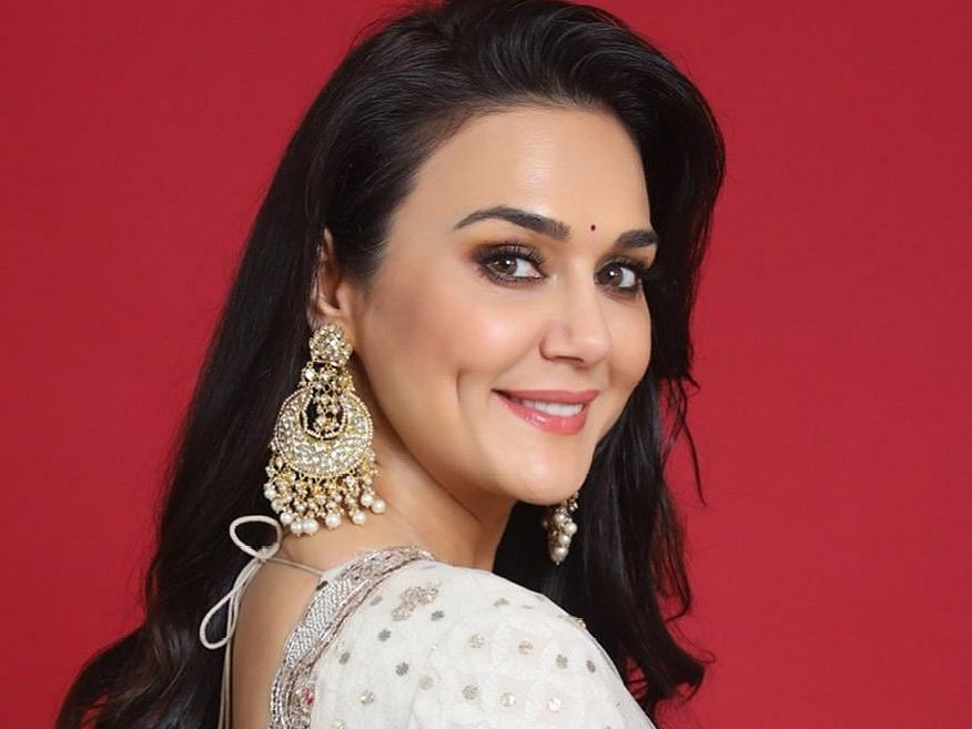 Preity Zinta shares work-out tutorial from her garden amid lockdown