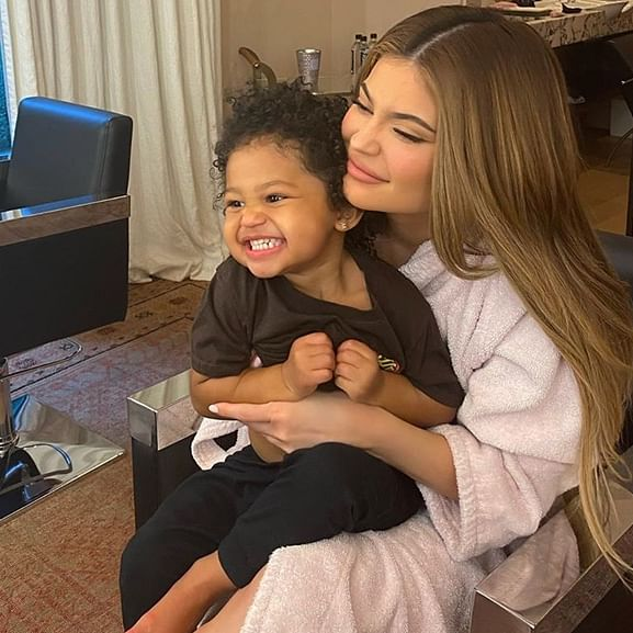 Kylie Jenner's daughter Stormi saying patience during the 'candy challenge' is the sweetest thing on the internet