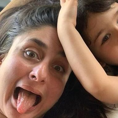 Kareena Kapoor sums up Mother's Day with a goofy picture alongside son Taimur