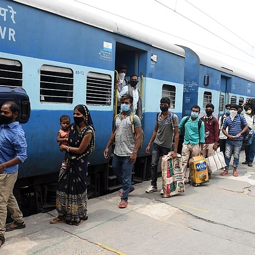 Train services resume: Will passengers going home be quarantined?