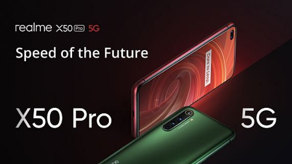 Top video recording tools arrive on Realme X50 Pro 5G