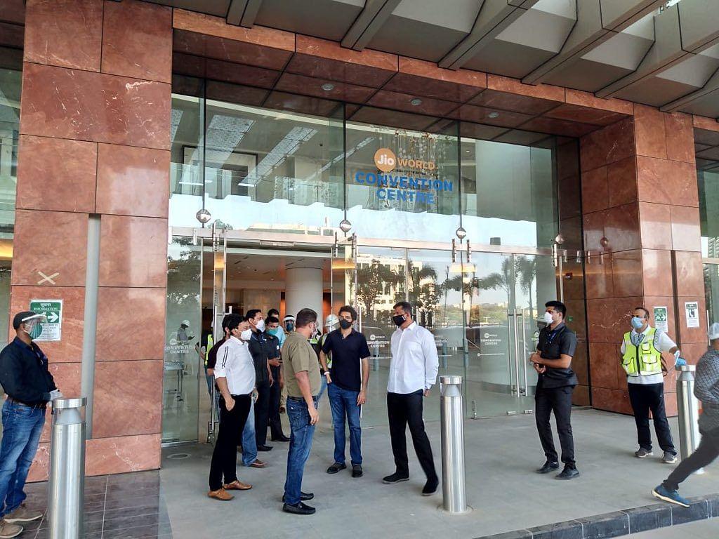 Reliance Jio Convention Centre to be converted into Corona Care Center: Maha govt
