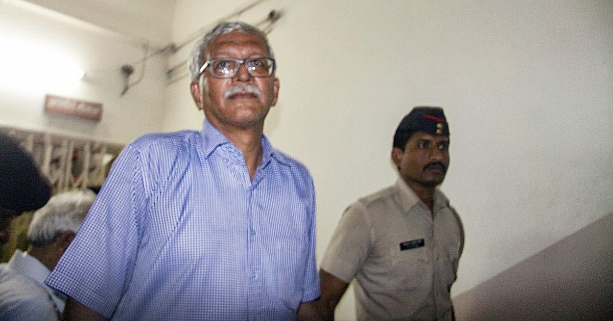 Bhima-Koregaon case: Vernon Gonsalves alleges that police harassed his family while he was locked up