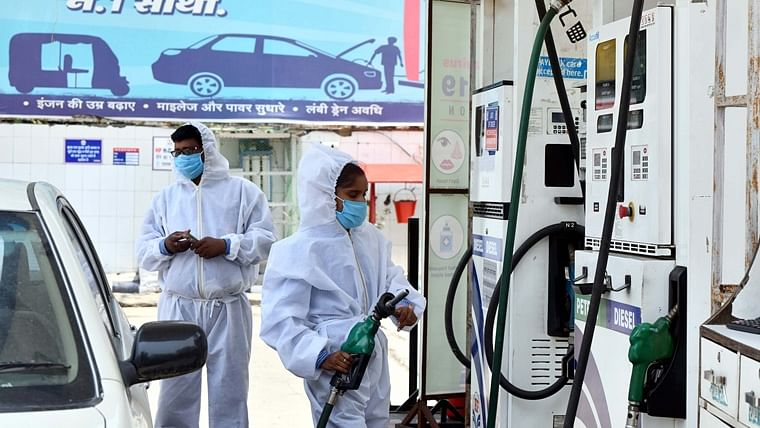 Petrol price hiked for sixth consecutive day, diesel remains unchanged