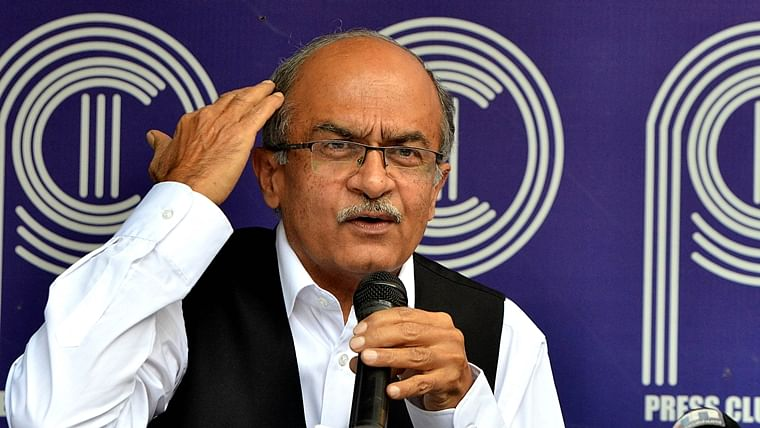 Ahead of Prashant Bhushan's sentencing for contempt of court, lawyers write to CJI; stage silent protests