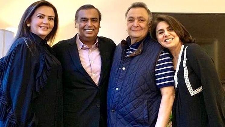 Neetu Kapoor thanks the Ambanis for extending support during Rishi Kapoor's health crisis