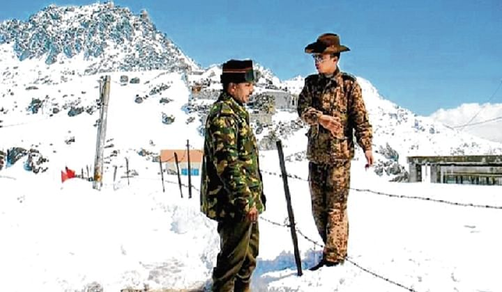 No violence between Indian, Chinese troops: Army