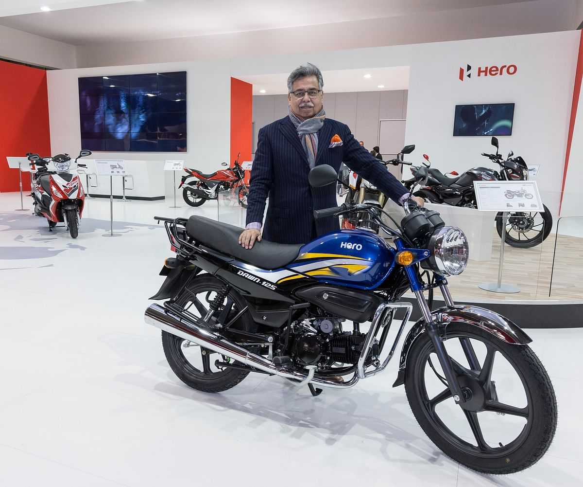 Pawan Munjal, Chairman, Managing Director and Chief Executive Officer, Hero MotoCorp.  (File image)