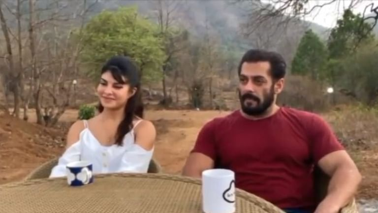 Salman Khan, Jacqueline Fernandez shoot for a song amid lockdown at the actor's Panvel farmhouse
