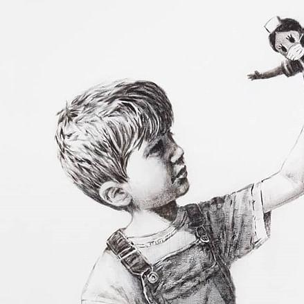Man tries to steal Banksy's 'superhero nurse' painting worth Rs 46 crore