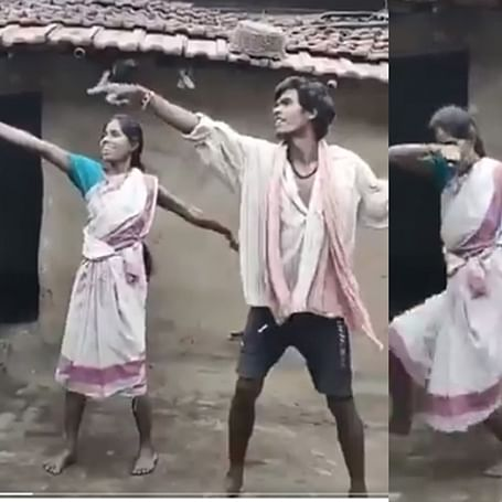 So you think you can dance? This village couple's choreography on 'Pyar Hamara Amar Rahega' will leave you stunned