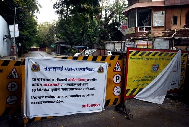 Three cops stationed outside Matoshree contract virus
