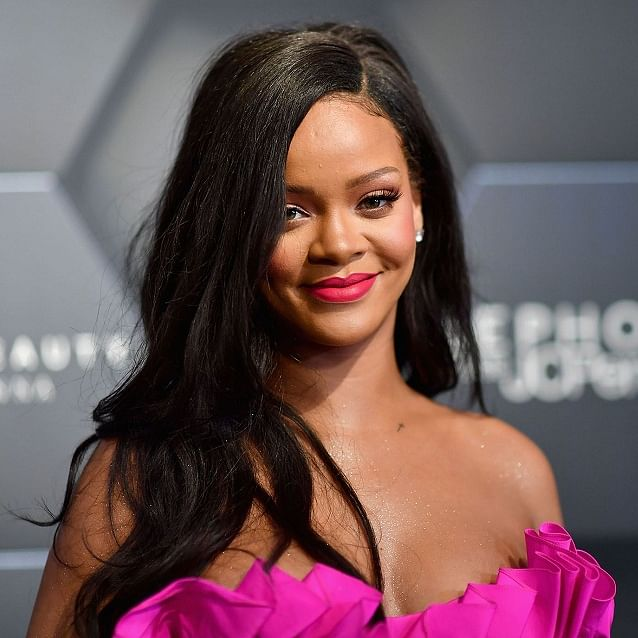 Jharkhand locals protest in Delhi against Rihanna's beauty brand