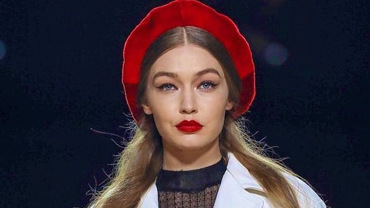 Gigi Hadid claps back at publication's claim of 'disguising' her baby bump