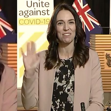 'She is unshakable': Twitterati in awe of New Zealand PM Jacinda Ardern's calm amid earthquake