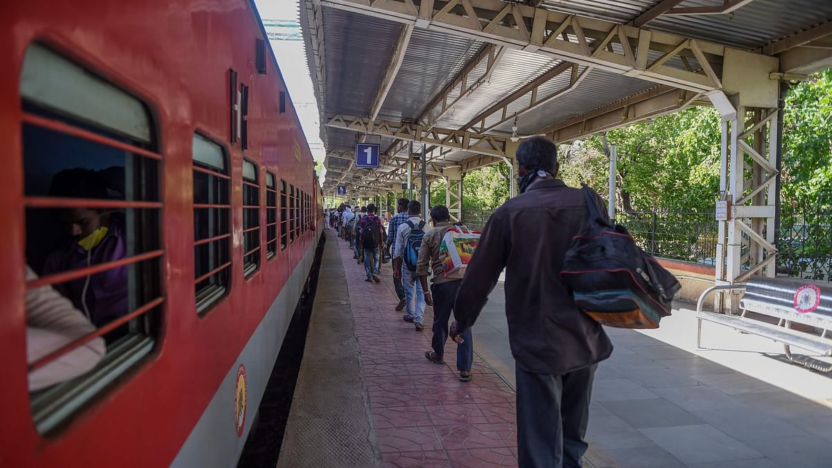 Special train to bring back UP migrant workers from Nashik on Sunday