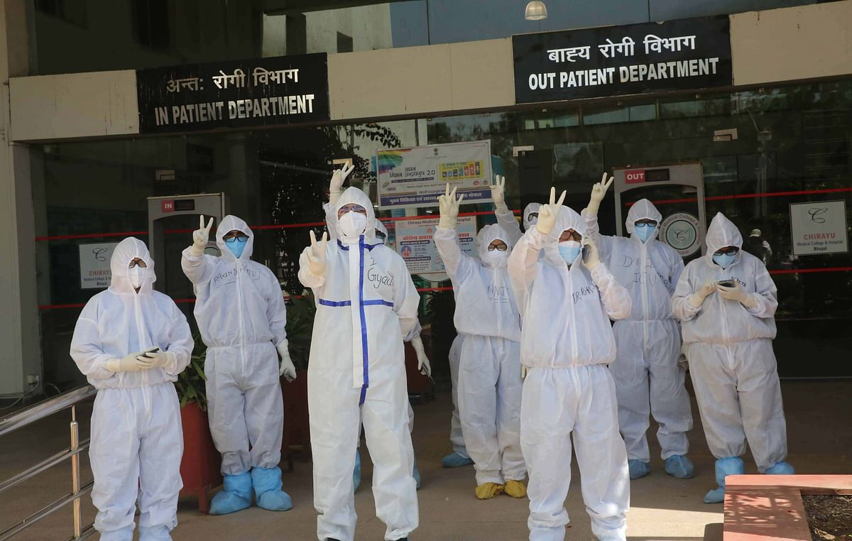 Bhopal: Doctors, paramedical staff find PPE kits uncomfortable in summer