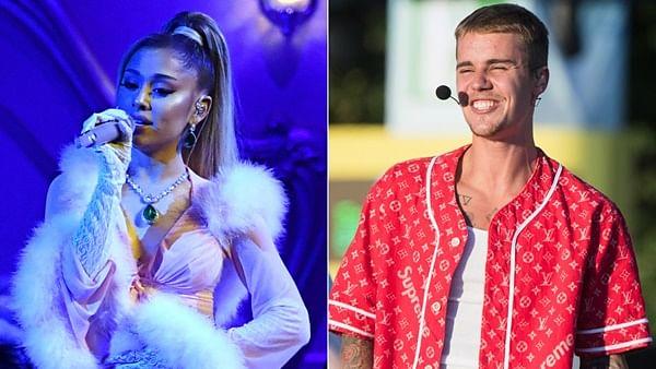 Ariana Grande, Justin Bieber