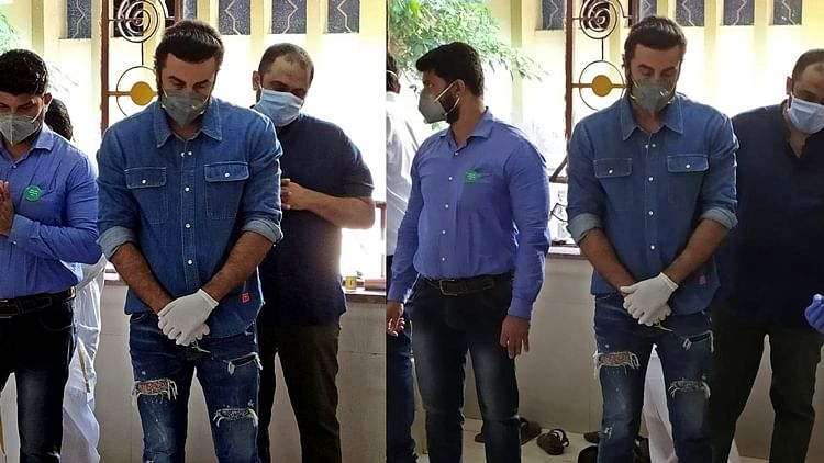 'How can you be so judgmental': Twitter divided over Ranbir wearing 'ripped jeans' at dad Rishi Kapoor's funeral