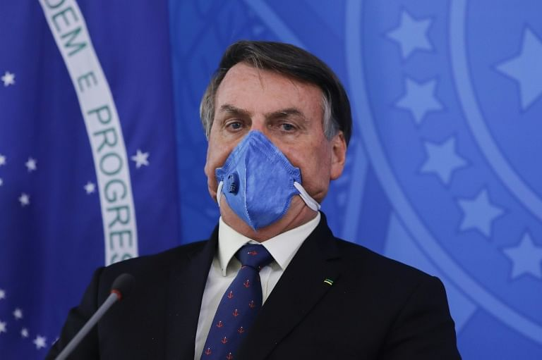 Ignoring grim COVID-19 stats, Brazilian President Jair Bolsonaro rides jet ski