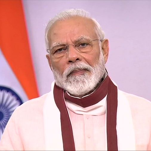 PM Modi expresses shock over explosions in Beirut says our thoughts and prayers are with bereaved families and injured'