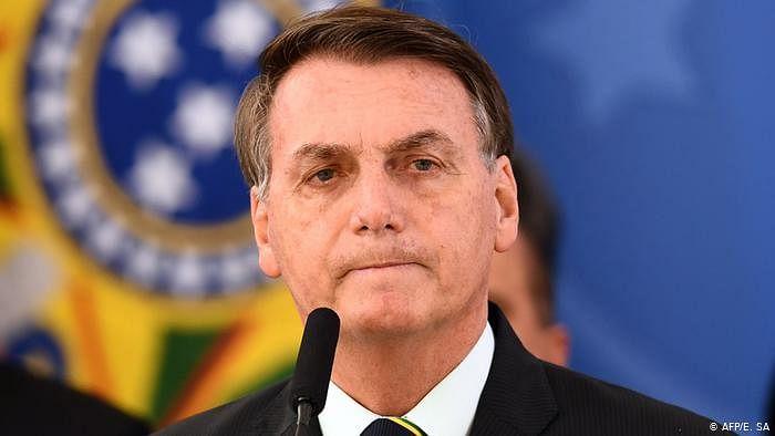Brazilian President Bolsonaro recommends chloroquine