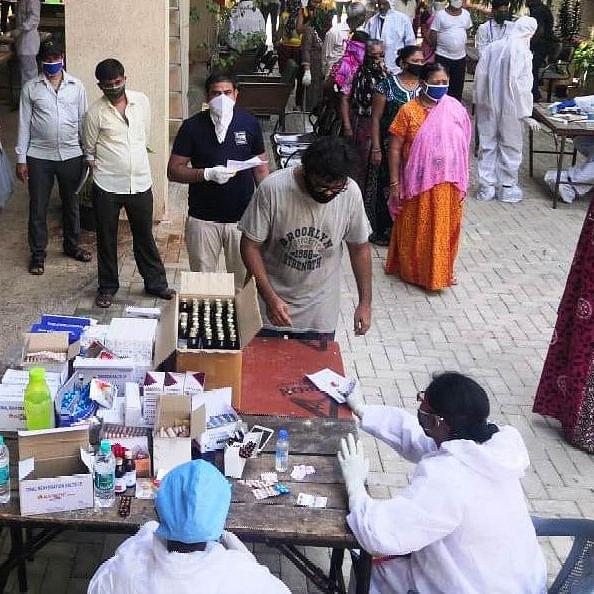 Coronavirus Update: NMMC begins mass screening in containment zones and slums in Navi Mumbai