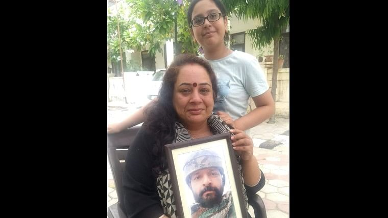 We are proud of Colonel Ashutosh Sharma, say wife and daughter of officer who was killed by terrorists in Handwara