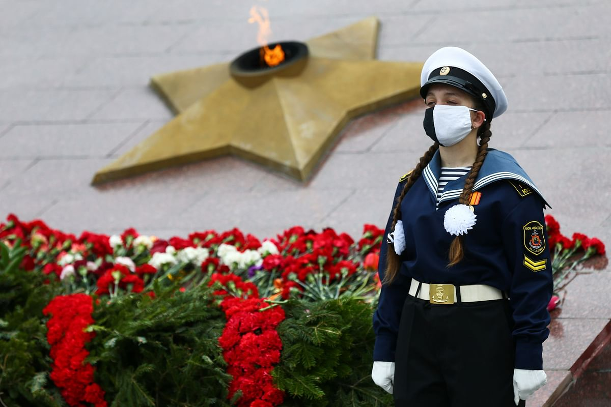 Russia marks low-key Victory Day, the anniversary of the defeat of Nazi Germany in WWII