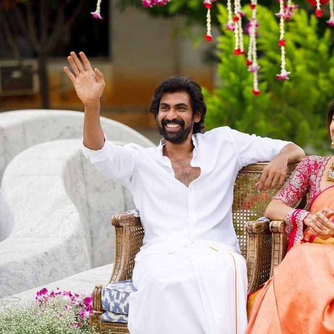 'And it's official!' Rana Daggubati shares 'roka ceremony' pics with Miheeka Bajaj