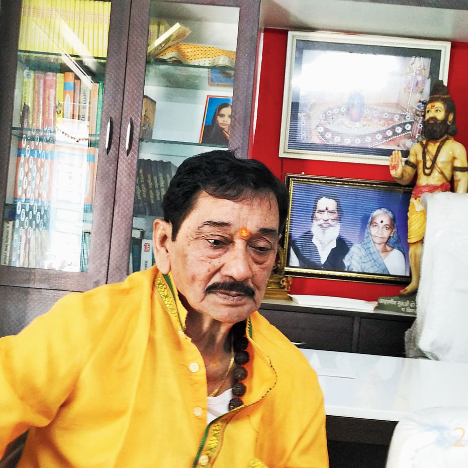 """Indore: Gaurav Ranadive's appointment as city BJP chief is outcome of """"shrey and pray"""" politics, says party leader  Satyanarayan Sattan"""
