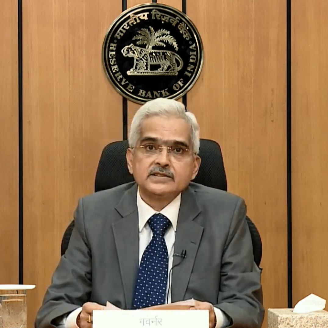 Repo rate remains unchanged at 4%: RBI Governor Shaktikanta Das
