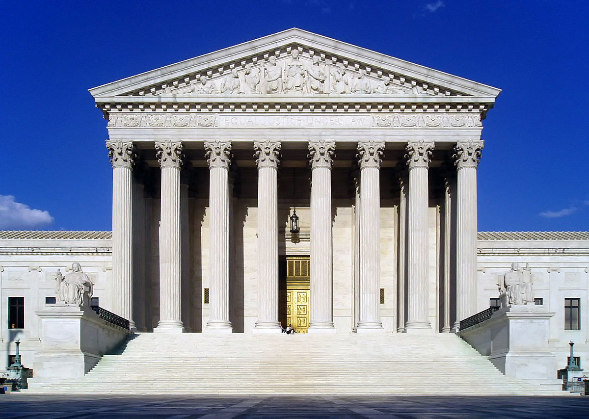 United States Supreme Court building.