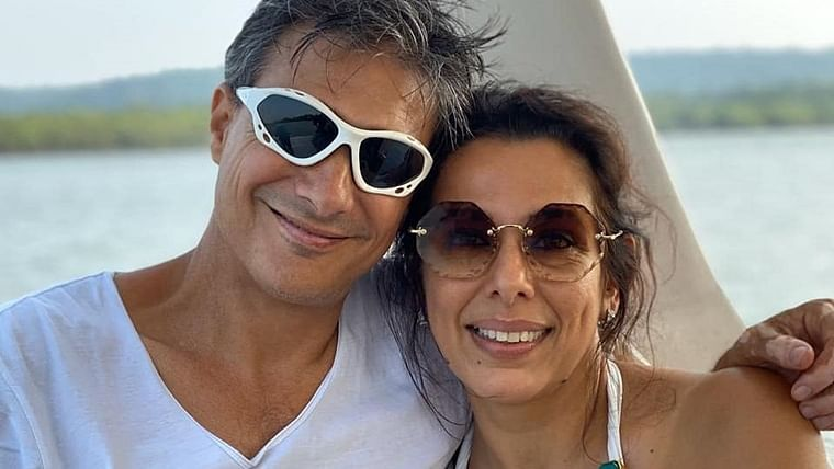 'You are with me because...': Pooja Bedi reveals how fiance Maneck Contractor reacts to men trying to flirt with her