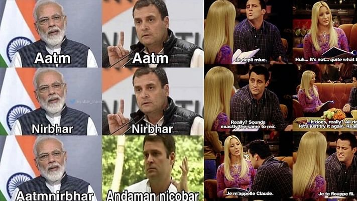 The new 'Aatmanirbhar' meme format to become self-reliant amid COVID-19 lockdown