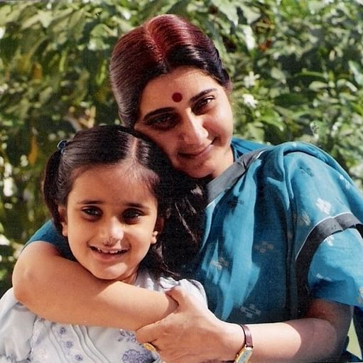 Bansuri's emotional Mother's Day post for late BJP stalwart Sushma Swaraj has left the internet teary-eyed