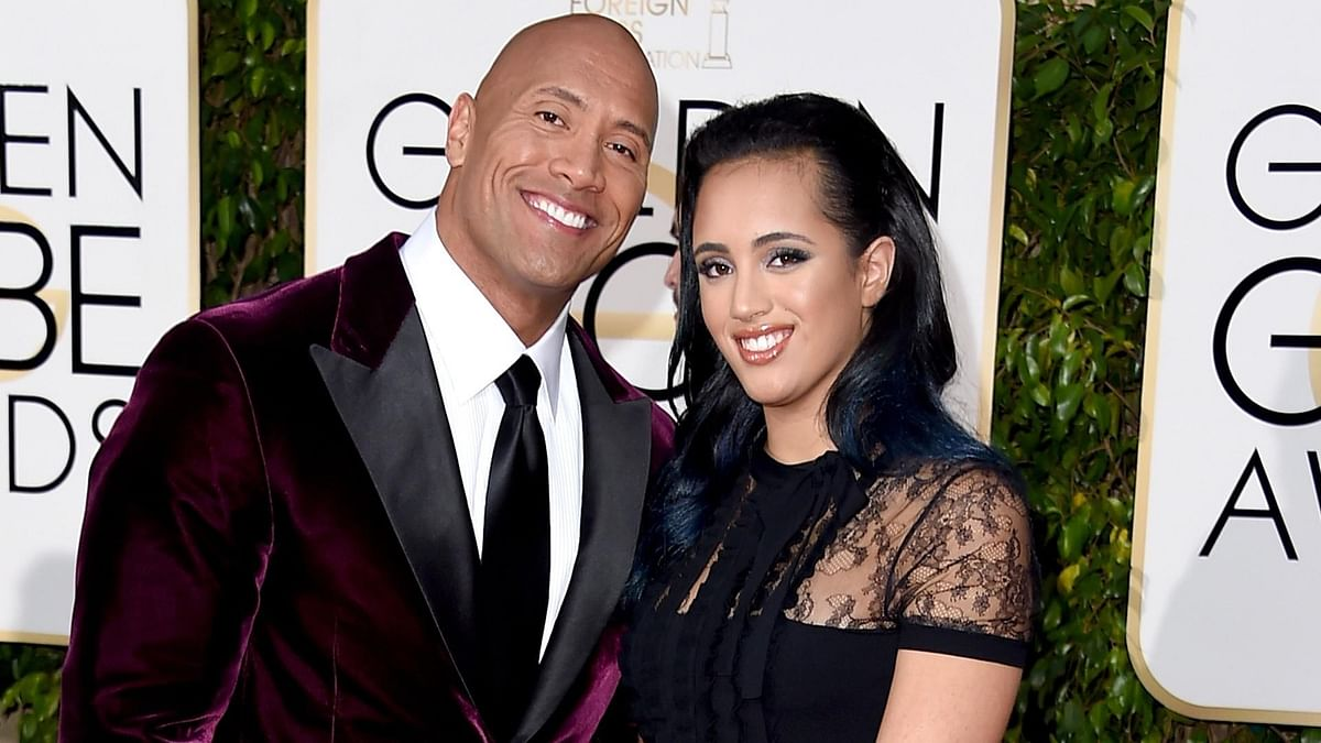 Like father like daughter: Dwayne Johnson's daughter joins WWE