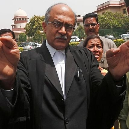 SC protects Prashant Bhushan from arrest for 'opium' tweet on Ramayana, Mahabharata re-telecast