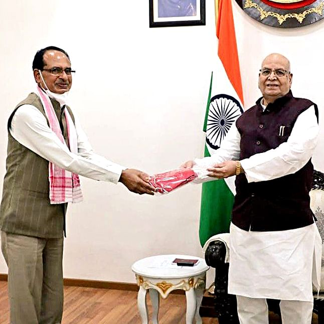 Madhya Pradesh: CM Shivraj Singh Chouhan visits RSS office and Raj Bhawan, cabinet expansion speculated