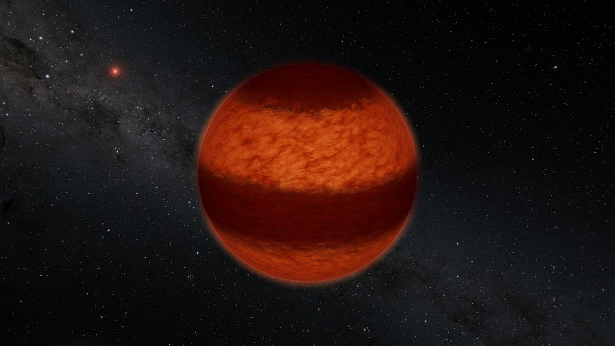 Astronomers find Jupiter-like cloud bands on the closest brown dwarf, Luhman 16A