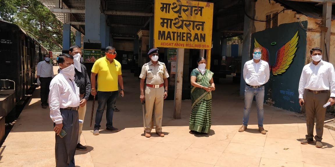 Coronavirus in Maharashtra: Trains begin ferrying goods to Matheran