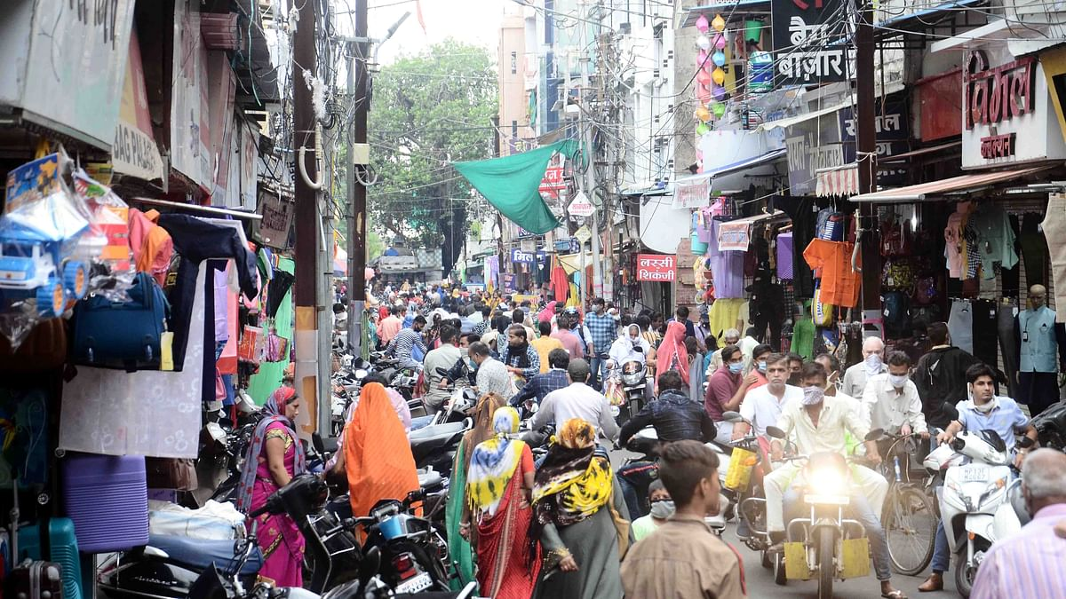 Ujjain: Hustle-bustle a new normal in city markets as all shops reopen